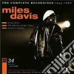 The complete recordings 1945 - 1960 cd musicale di Miles Davis