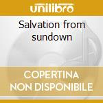 Salvation from sundown cd musicale di Lopez Lance