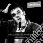 Live at rockpalast 1978 cd musicale di Ian & the bloc Dury