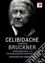 Bruckner: sinfonie n.4, 6 & 8 cd musicale di Sergiu Celibidache