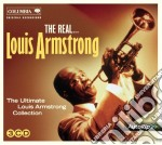 The real louis armstrong - 3cd cd musicale di Louis Armstrong