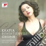 Chopin:concerto per piano n.2 /ballate, cd musicale di Khati Buniatishvili