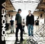 Sonohra - La Storia Parte Da Qui cd musicale di Sonohra