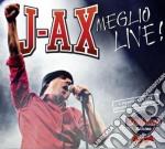 Meglio live (2cd+dvd deluxe) cd musicale di J.ax