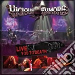 Live you to death cd musicale di Rumors Vicious