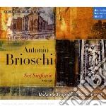 BRIOSCHI - 6 SINFONIE cd musicale di Vanni Moretto