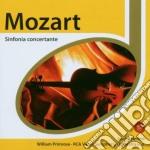 Mozart:sinf.concert.+brahms conc vl.e vl cd musicale di Jascha Heifetz