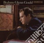 BRAHMS 10 INTERMEZZI cd musicale di Glenn Gould