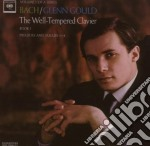 BACH CLAVICEMBALO BEN TEMPERATO LIBRO 1 cd musicale di Glenn Gould