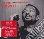LIVE FROM PHILADELPHIA (CD + DVD) cd musicale di John Legend