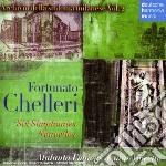 CHELLERI - SIX SIMPHONIES NOUVELLES cd musicale di Vanni Moretto