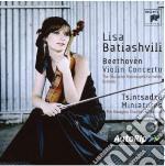 Beethoven: conc per violino -tsintsadze: cd musicale di Lisa Batiashvili