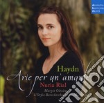 Haydn: arie per un'amante cd musicale di Nuria Rial