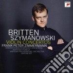 Szymanowski/britten: concerti per violin cd musicale di Britten Szymanowski