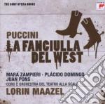 PUCCINI - LA FANCIULLA DEL WEST (SONY OP cd musicale di Lorin Maazel