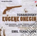 Ciaikovsky - eugene onegin (sony opera h cd musicale di Emil Tchakarov