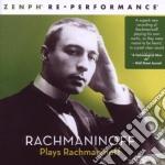 Rachmaninoff plays rachmaninoff - zenph cd musicale di RACHMANINOFF
