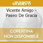 Paseo de gracia cd musicale di Vicente Amigo