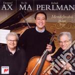 Mendelssohn: trii per piano op49+66 cd musicale di AX EMANUEL-YO YO MA-PERLMAN IT