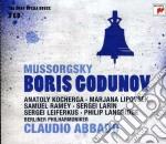 Mussorgsky: boris godunov (sony opera ho cd musicale di Claudio Abbado