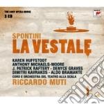 Spontini- la vestale (sony opera house) cd musicale di Riccardo Muti
