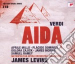 Verdi - aida (sony opera house) cd musicale di James Levine