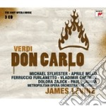 Verdi - don carlo (sony opera house) cd musicale di James Levine