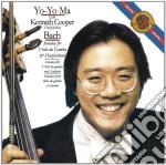 Bach:sonate per viola da gamba e cembalo cd musicale di Yo yo ma