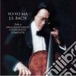 Bach - suites per violoncello cd musicale di Yo yo ma