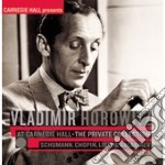 Private collection 2 - schumann, chopin, cd musicale di Vladimir Horowitz