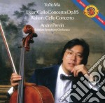 Elgar:concerto per cello/walton: concert cd musicale di Yo yo ma