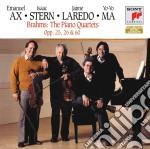 Brahms:quartetti con pianoforte cd musicale di Yo yo ma