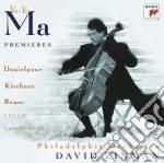 Vari: premiers / concerti per cello e or cd musicale di Yo yo ma