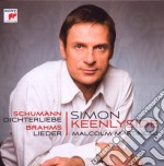 Schumann: dichterliebe - brahms: lieder cd musicale di Simon Keenlyside