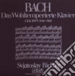 Bach - clavicembalo ben temperato vol.1 cd musicale di Sviatoslav Richter