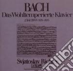 Bach - clavicembalo ben temperato vol.2 cd musicale di Sviatoslav Richter