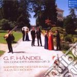 Handel - Concerti Grossi Op. 3 Nr. 1-6 - Kammerorchester Basel cd musicale di Base Kammerorchester