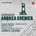 Giordano: andrea chenier (sony opera hou cd musicale di James Levine