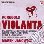 Korngold:violanta (sony opera house) cd musicale di Marek Janowski