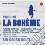 Puccini: la boheme (sony opera house) cd musicale di Sir georg Solti