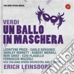 Verdi: un ballo in maschera (sony opera cd musicale di Erich Leinsdorf