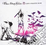 Life starts now cd musicale di Three days grace