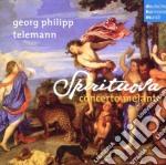 Telemann - sonate per archi cd musicale di Melante Concerto