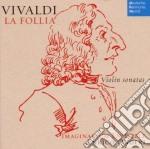 Vivaldi - la follia- sonate x violino cd musicale di Enrico Onofri