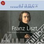 Liszt: studi trascendentali cd musicale di Stanev Vesselin