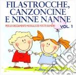 FILASTROCCHE,CANZONCINE E... 2            cd musicale di ARTISTI VARI