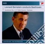 Beethoven:tutte le sinfonie+ouvertures+c cd musicale di Leonard Bernstein