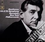 Beethoven - sinfonie n.5 e 7 cd musicale di Leonard Bernstein