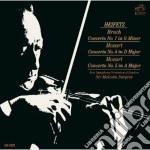 Mozart conc.violino n.1+5 - bruck c.to n cd musicale di Jascha Heifetz