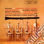 Mozart - Concerto Clarinetto + Quintetto Con Clarinetto - Benny Goodman/Charles Munch cd musicale di Benny Goodman